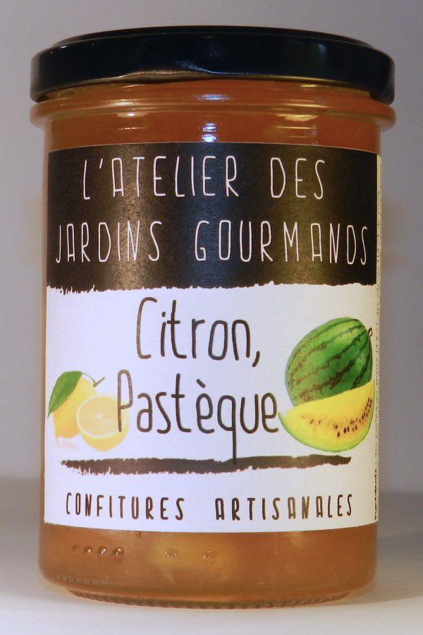 confiture citron-pasteque l'Atelier des Jardins Gourmands
