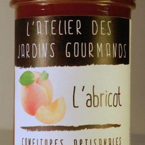 confiture abricot atelier des jardins gourmands