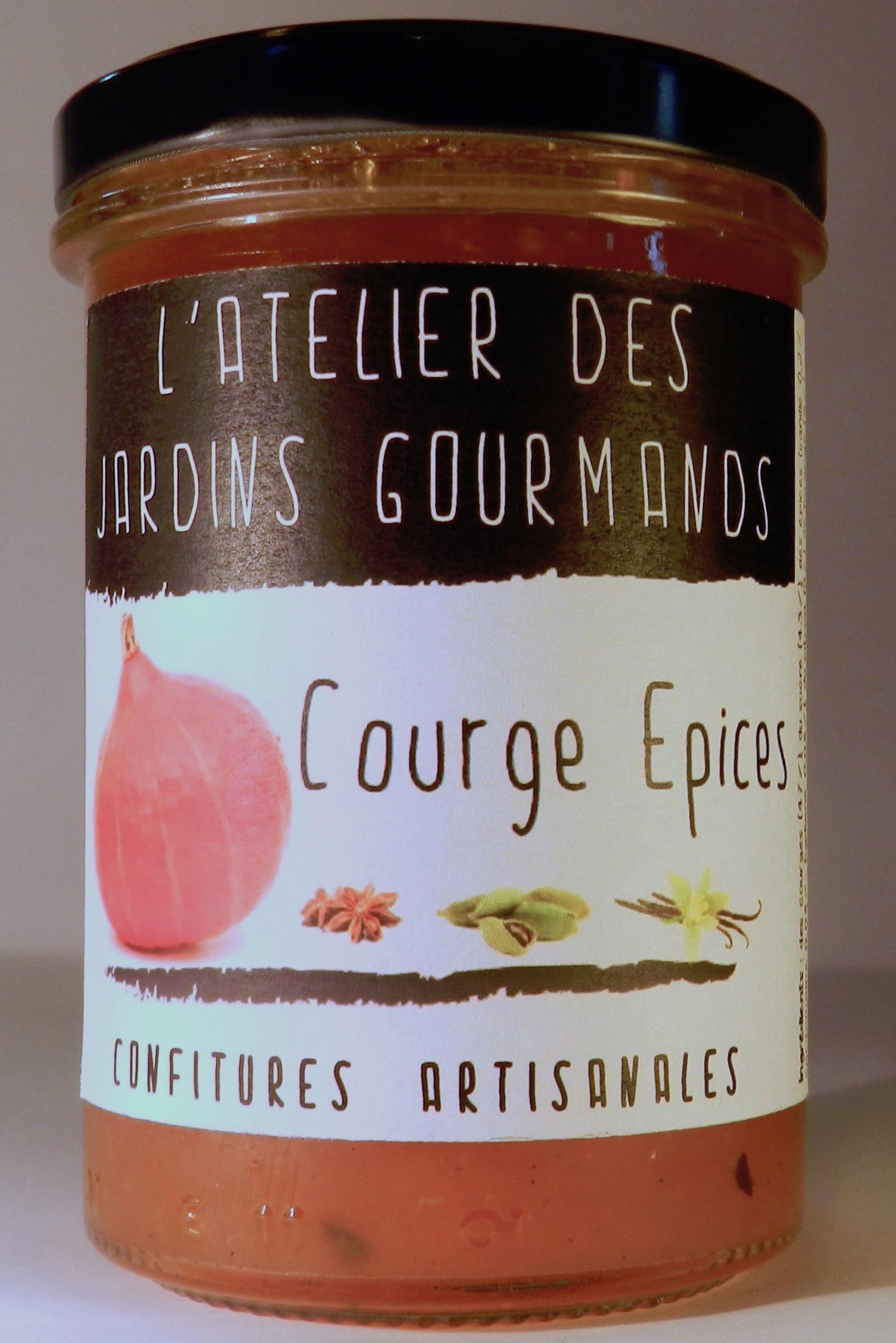 courge_épices confiture l'atelier des jardins gourmands