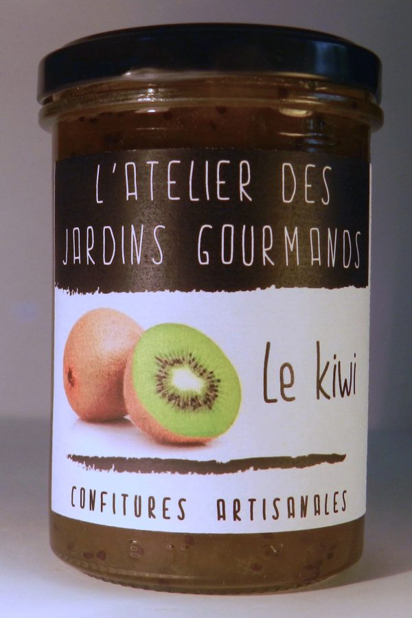 confiture kiwi l'Atelier des Jardins Gourmands