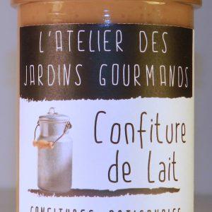 confiture lait l'Atelier des Jardins Gourmands
