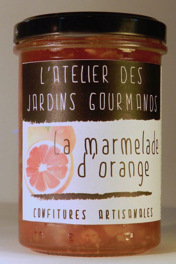 marmelade_orange confiture atelier des jardins gourmands