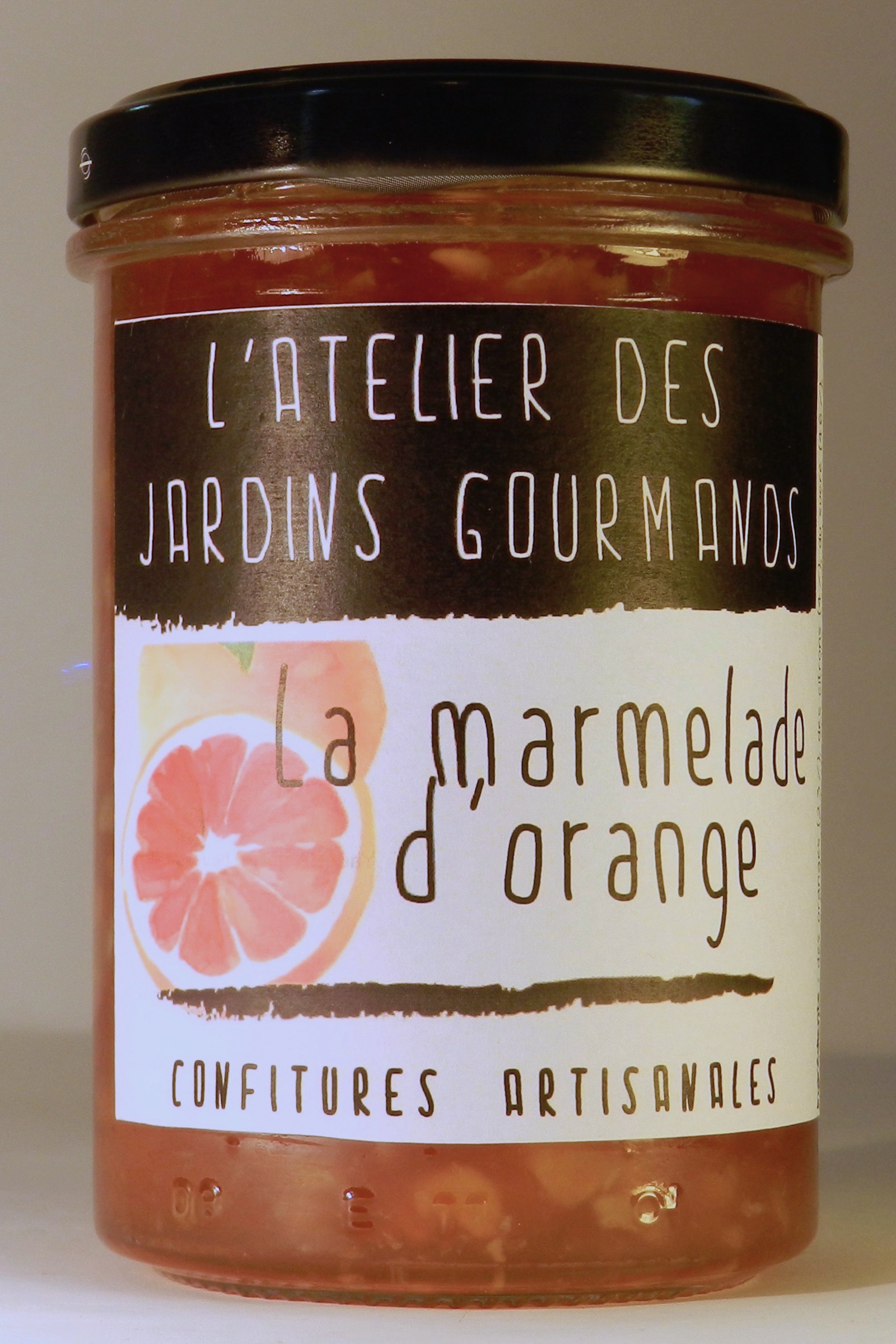 marmelade_orange confiture atelier des jardins gourmands