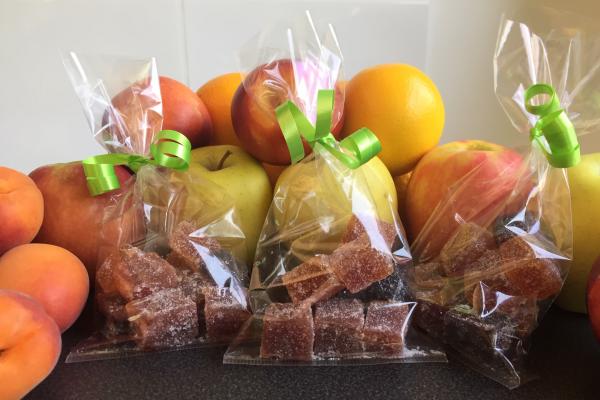 pate de fruits l'Atelier des Jardins Gourmands