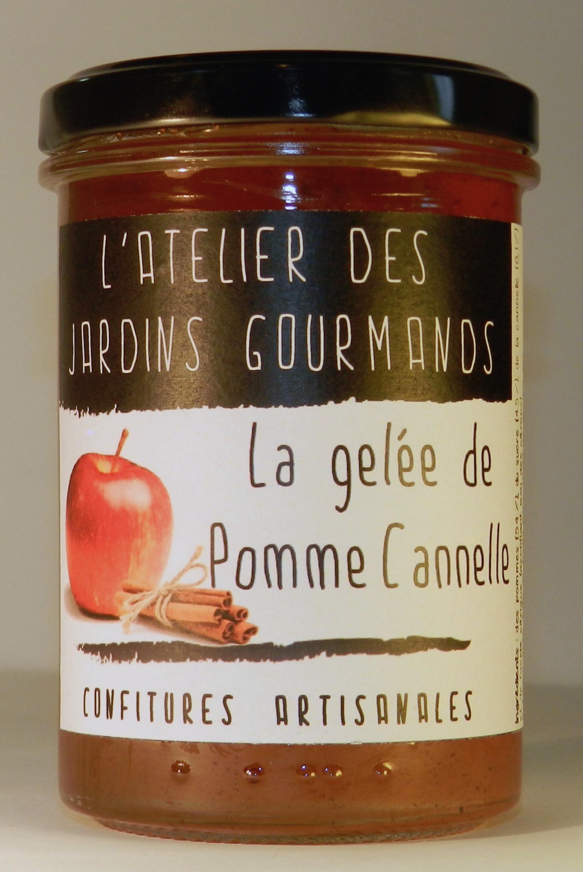 gelée pomme cannelle l'Atelier des Jardins Gourmands