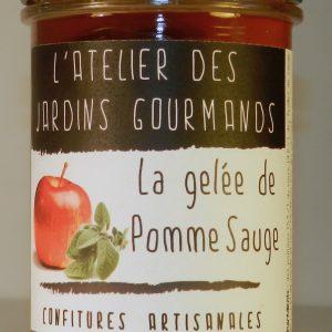 gelée pomme sauge l'Atelier des Jardins Gourmands