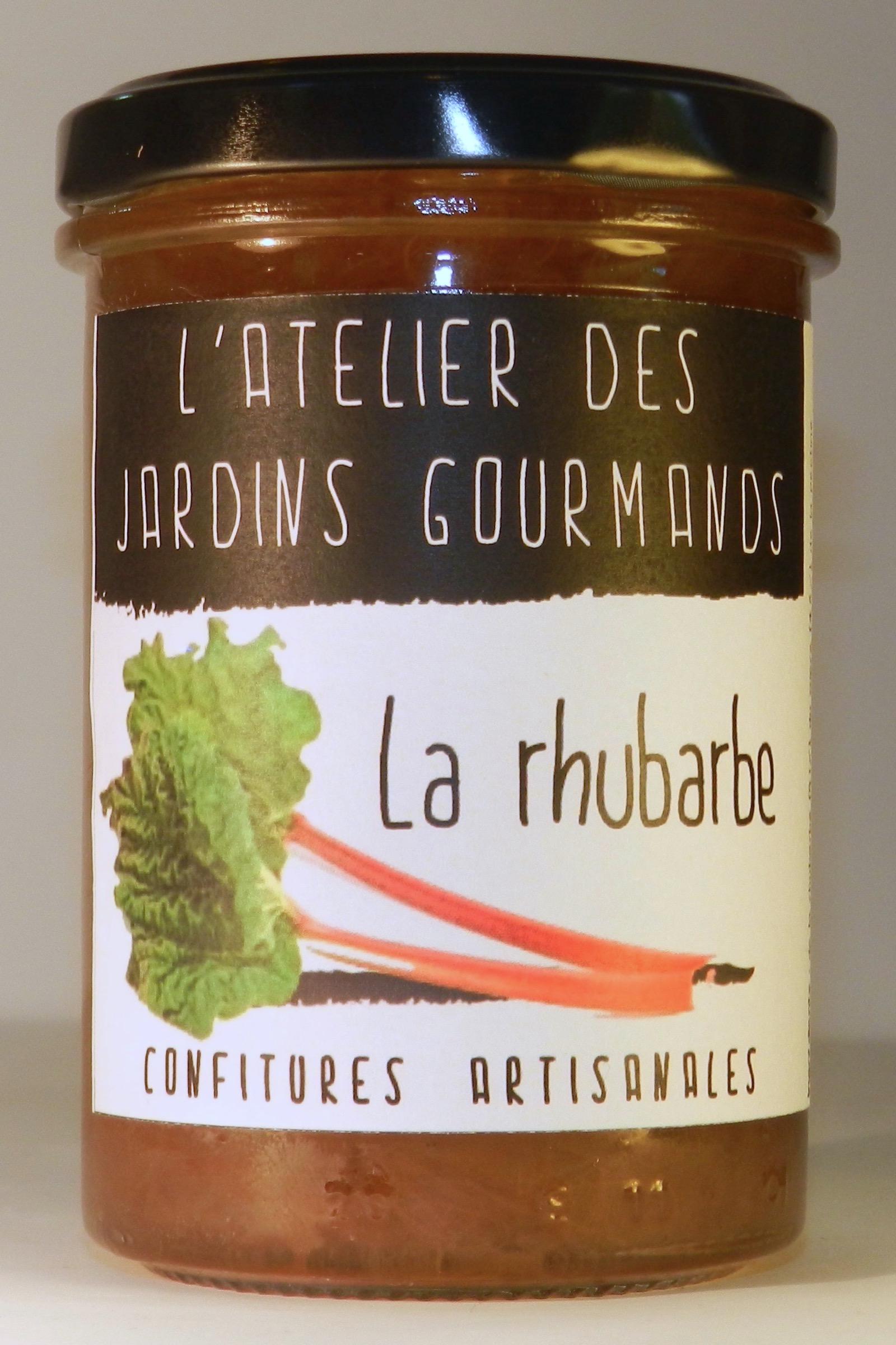 rhubarbe l'Atelier des Jardins Gourmands
