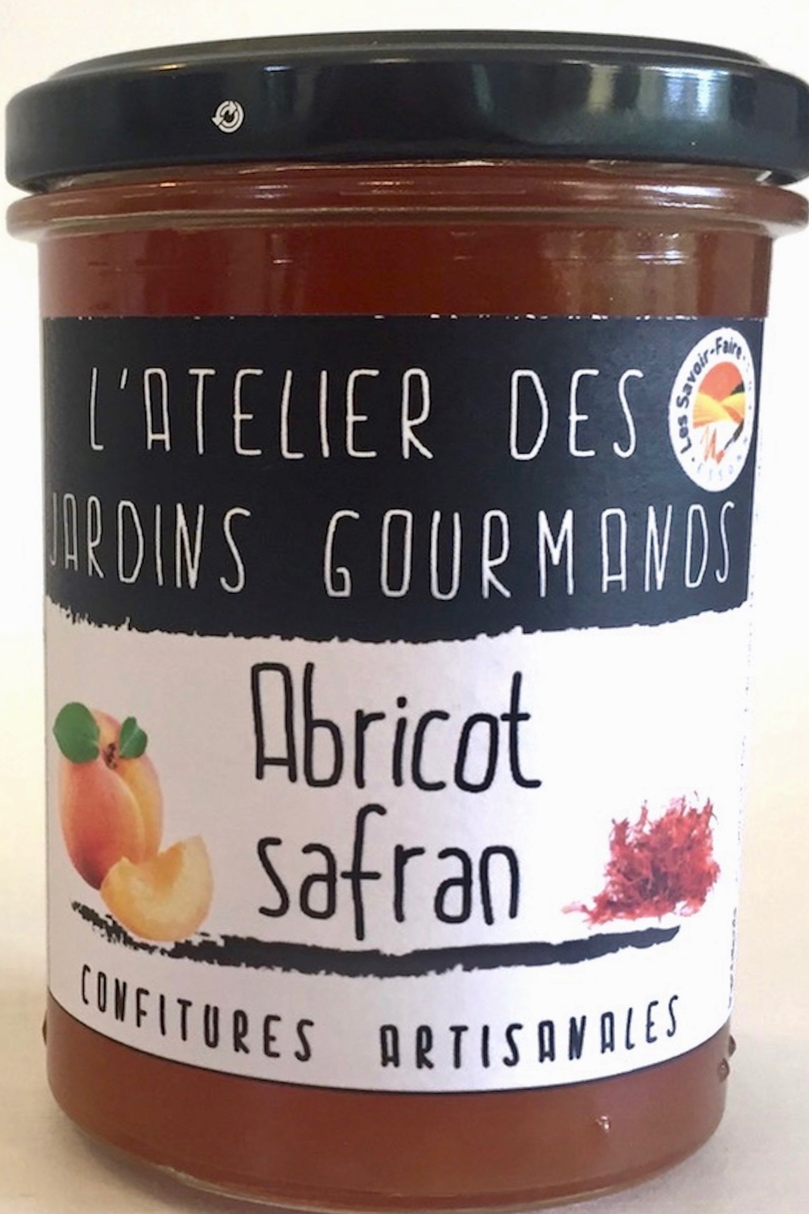 Abricot safran atelier des jardins gourmands