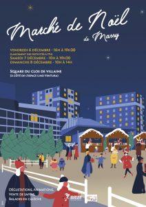 marché de Noël Massy atelier des jardins gourmnads