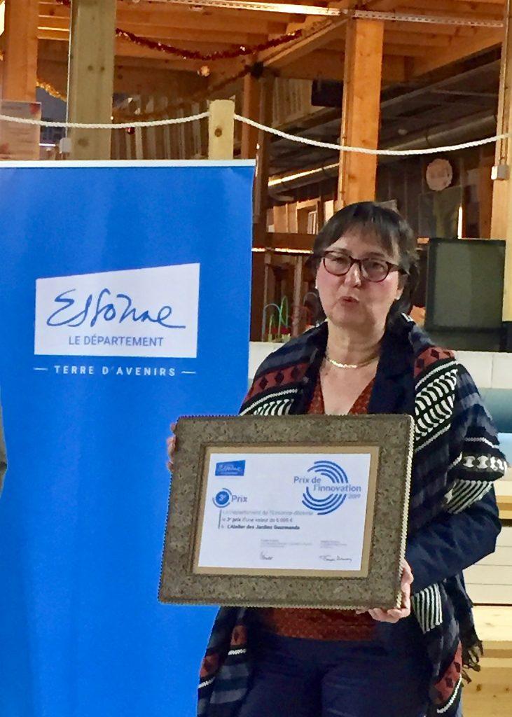 Prix de l'innovation durable atelier des jadins gourmands