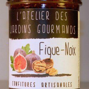 confiture figue-noix atelier des jardins gourmands