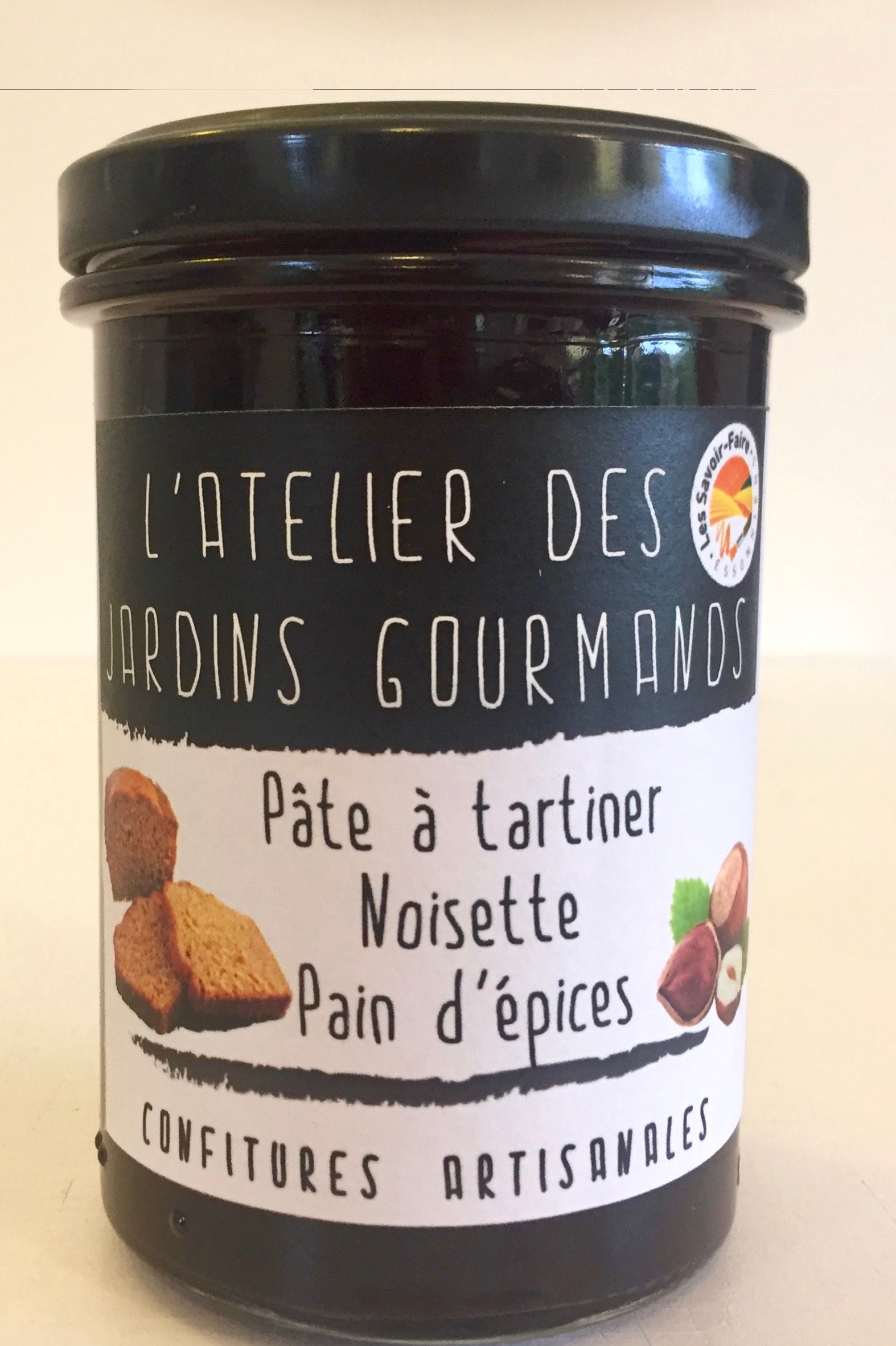 pâte à tartiner noisette-pain d'épices atelier des jardins goyrmands